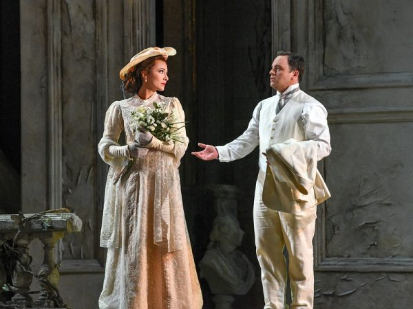 Isabel Leonard and Paul Appleby in Pelleas et Melisande. Credit: Karen Almond