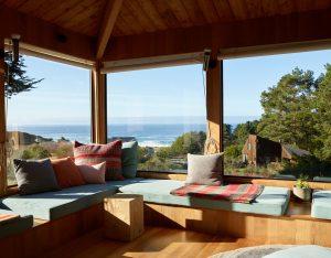 Sea Ranch house interior
