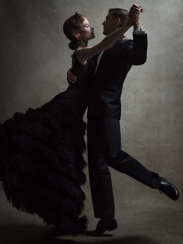 "American Contemporary Ballet's ""Astaire Dances2: Fred & Ginger"". Photo by Victor Demarchelier."