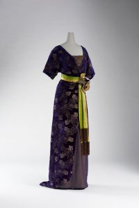 Evening Dress, about 1910, designed by Lucy Duff-Gordon for Lucile Ltd., collection of the Kyoto Costume Institute.