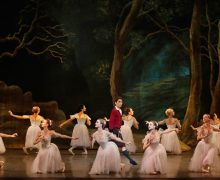 "Los Angeles Ballet's ""La Sylphide"".  Photo by Reed Hutchinson."