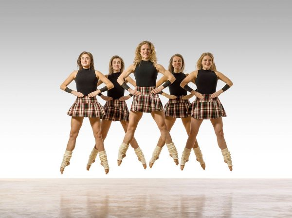 Trinity Irish Dance Company. Photo by Lois Greenfield.