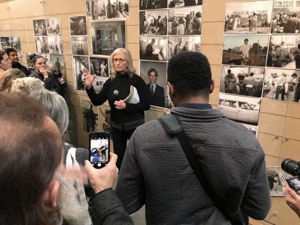 Annie Leibovitz at her new exhibition