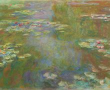Claude Monet, Water Lily Pond, 1917-22, The Art Institute of Chicago. All Monet images courtesy of the Fine Arts Museums of San Francisco.