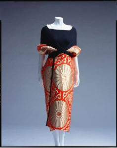 Dress, 1995, designed by Yohji Yamamoto, collection of the Kyoto Costume Institute.