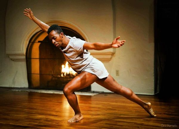 "Bernard Brown/bbmoves in ""Field Notes Dances in Dire Times"". Photo courtesy of the artist."