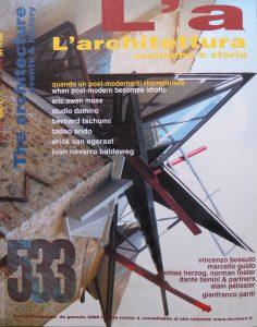 L'Architettura 533 - Cover