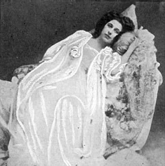 Amelita as Violetta