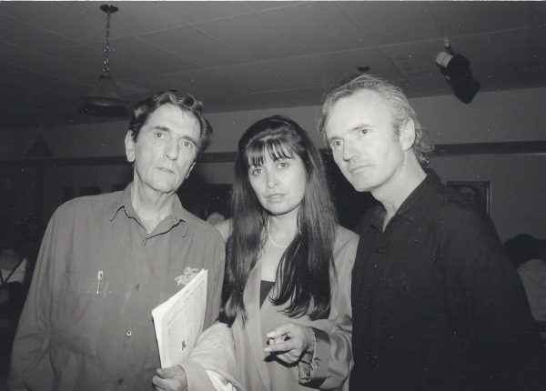 Harry Dean Stanton, Eve Brandstein, and Micheal Lally