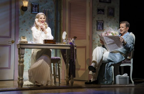 Kelli O'Hara and Will Chase in Kiss Me, Kate. Credit: Joan Marcus