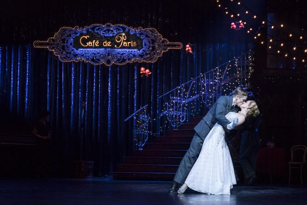 "Andrew Monaghan and Ashley Shaw in Matthew Bourne's ""Cinderella."" Photo by Johan Persson."