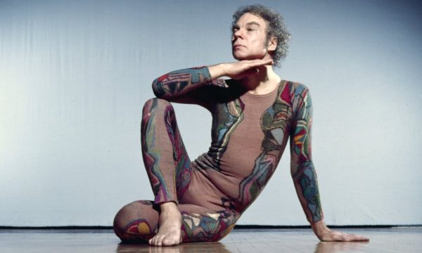 Merce Cunningham. Photo by Jack Mitchell, courtesy of Getty Images.