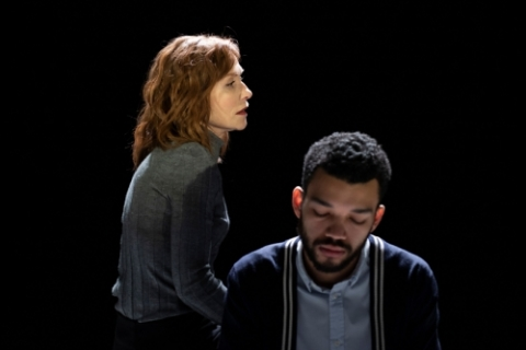 Isabelle Huppert and Justice Smith in The Mother Credit: Ahron R. Foster