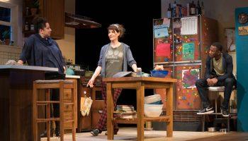 l-r, Nia Vardalos & XXXXX in Tiny Beautiful Things at The Pasadena Playhouse.