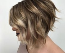 Inverted bob hair style