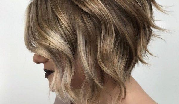 Inverted bob hair style