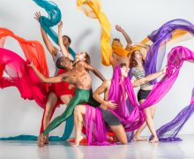 L.A. Dance Festival's BrockusRED.  Photo by Denise Leitner.
