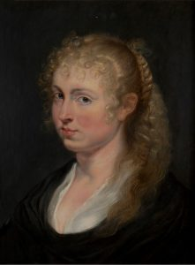 "Peter Paul Rubens, (ITAL) ""Young Woman with Curly Hair,"" about 1618-20. The Armand Hammer Collection, Gift of the Armand Hammer Foundation. Hammer Museum, Los Angeles."