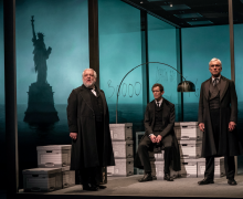 Simon Russell Beale in The Lehman Trilogy.