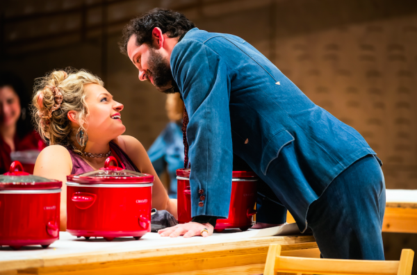 Ali Stroker and Will Brill in Oklahoma! Credit: Little Fang Photo
