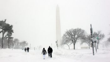 Washington DC Winter. Courtesy of Flickr by thisisbossi under Creative Commons license.