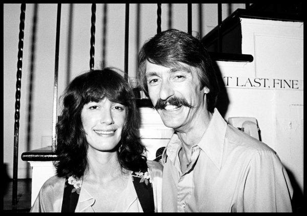 Eve Babitz and Paul Ruscha. 1976. photo by Elisa Leonelli