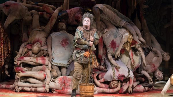 Nathan Lane in Gary: A Sequel to Titus Andronicus. Credit: Julieta Cervantes