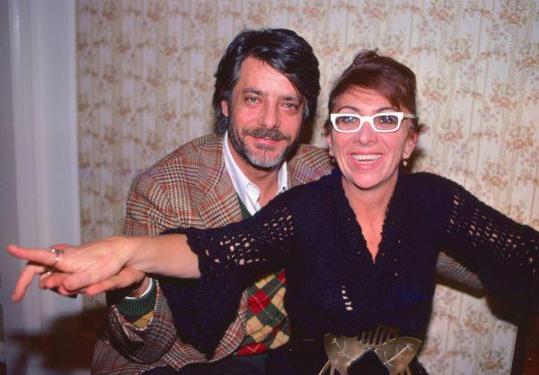 Giancarlo Giannini, Lina Wertmuller 1978. Photo by Elisa Leonelli