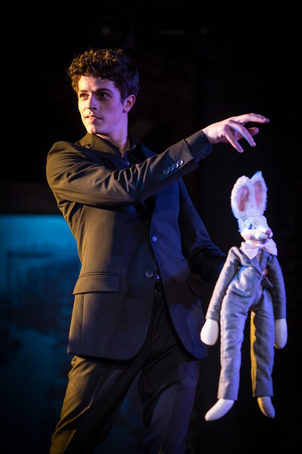Brady Dalton Richards in the 24th Street Theatre's The Miraculous Journey of Edward Tulane.