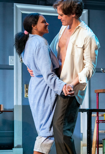 Audra McDonald and Michael Shannon in Frankie and Johnny in the Clair de Lune, Credit: Deen van Meer