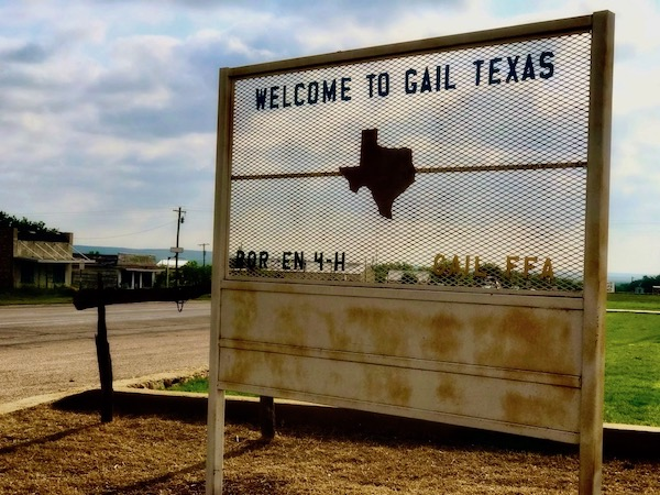 Welcome to Gail, Texas! Gail is a charming small town in Borden County, with a delightful community of about 200 people. Photography by Valerie Pronio-Stelluto, M.D.