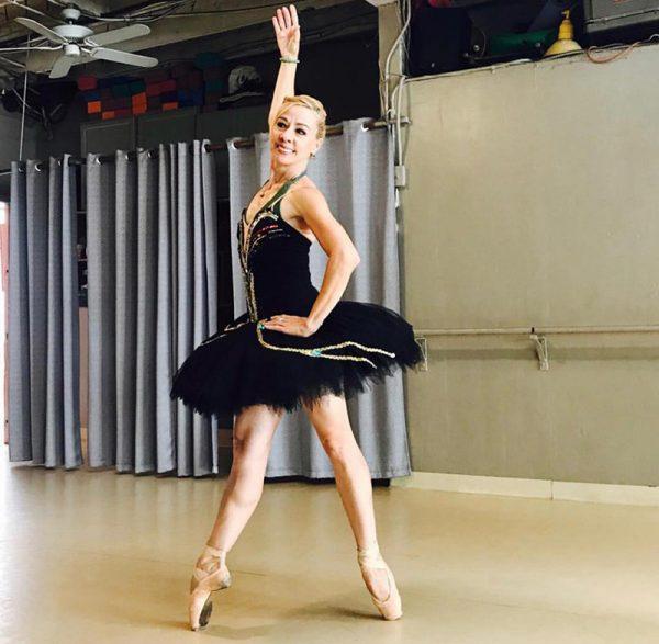 LA Cuban Ballet's Bertha Suarez Blankenship. Photo courtesy of the artist.