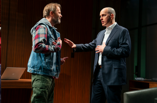 Lee Tergesen and Kelly AuCoin in Long Lost. Credit: Joan Marcus