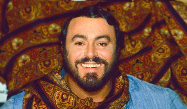 Luciano Pavarotti (c) Elisa Leonelli 1981