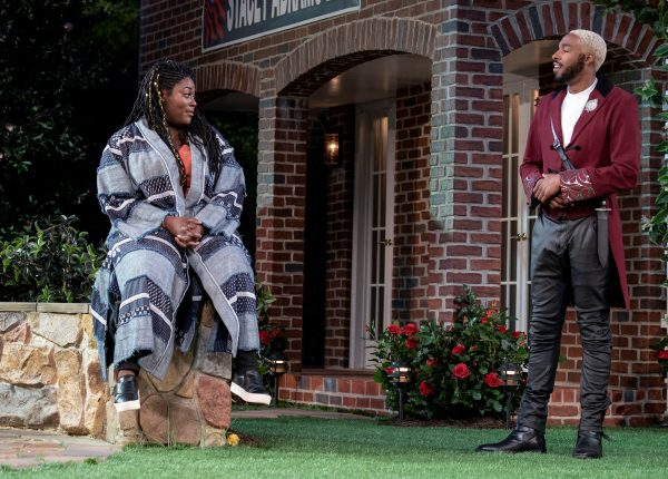 Danielle Brooks and Grantham Coleman in Much Ado About Nothing. Credit: Joan Marcus