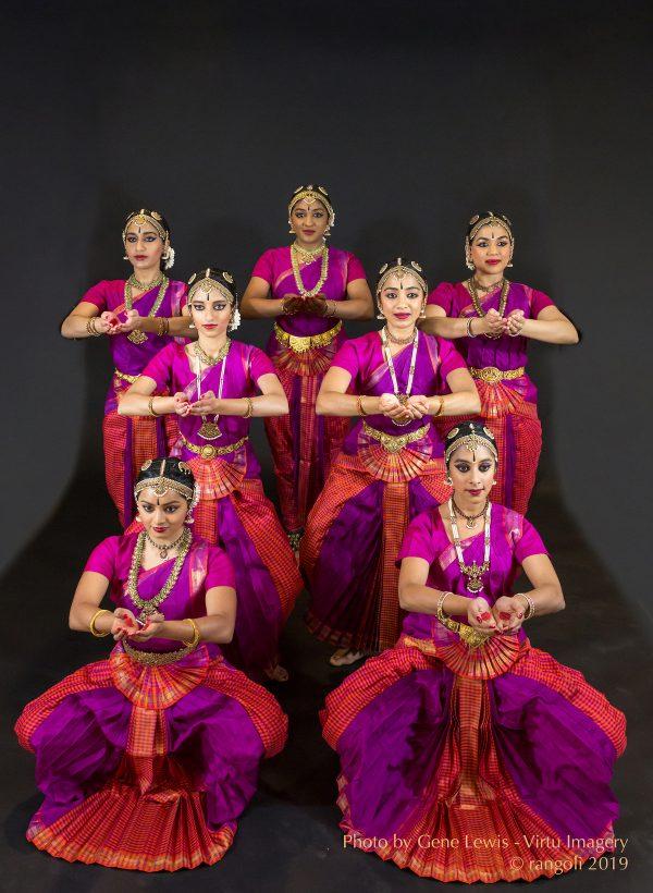 Rangoli Dance Company. Photo by Gene Lewis.