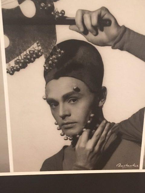 "Rudi Gernreich dancing in Lester Horton's ""Salome""."