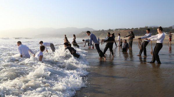 Beach Dances: Shared Practice. Photo by Andrew Mandinach.