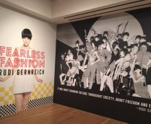 Gernreich Exhibit poster.  Photo courtesy of Skirball Center.