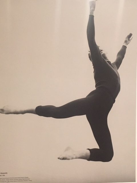Rudi Gernreich dancing. Photo courtesy of Skirball Center.