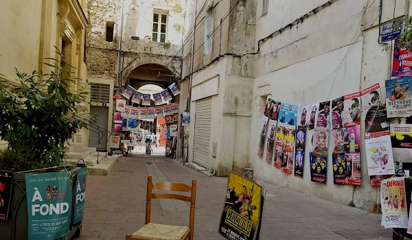 Avignon Theatre Festival, 2019. Photo by Adam Leipzig