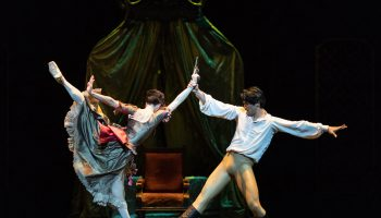 "Royal Ballet in ""Mayerling"". Photo by Helen Maybanks."