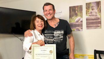NLP Master Results Coach, Evie Sullivan with Chris Howard