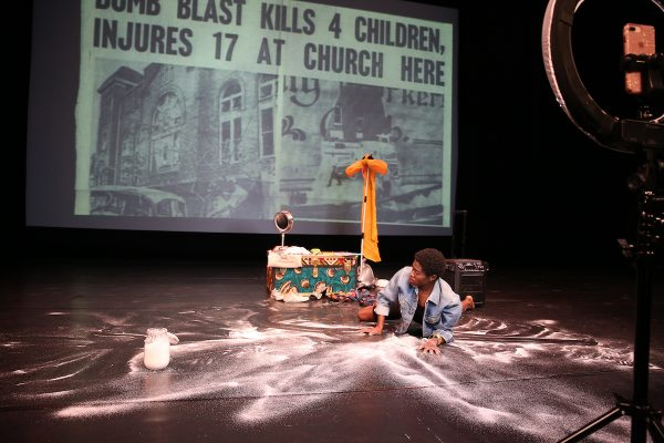 REDCAT New Original Works Festival. Photo courtesy of the artist.
