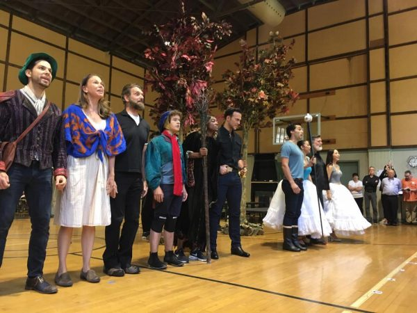 "Cast of ""Into the Woods"". Photo by AHaskins."