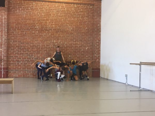Nathan B Makolandra as Tybalt and LADP dancers. Photo by Ann Haskins.