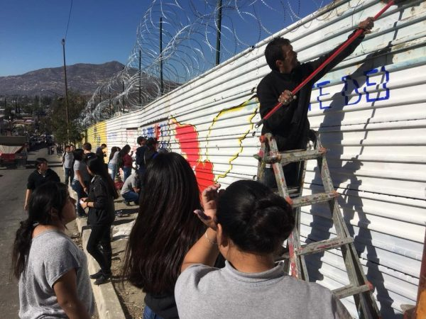 The Mural of Brotherhood at the US/Mexico border