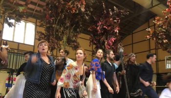 """Cast of """"Into the Woods"""" in rehearsal. Photo by AHaskins."""