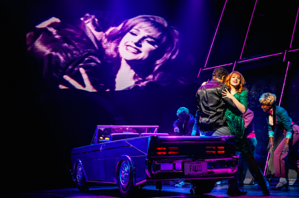 Bradley Den and Lena Hall in Bat Out of Hell Credit: Little Fang Photo
