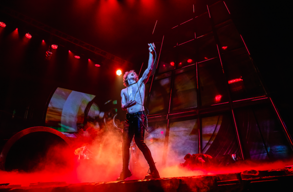 Andrew Polec in Bat Out of Hell. Credit: Little Fang Photo